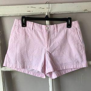 Ralph Lauren Pink & White Striped Shorts